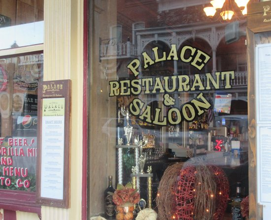 Palace Saloon Restaurant Virginia City