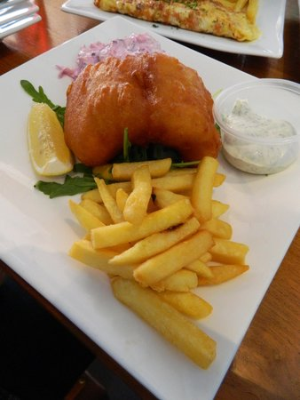 Uncle Albert's Traditional Fish and Chips : Buttered Corjun Fish & Chips