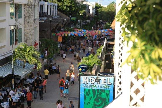 Maya Del Mar: Вид с балкона на 5-ю авеню