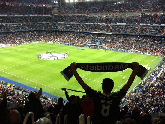 Guide to madrid for families travel guide on tripadvisor for Puerta 8 bernabeu