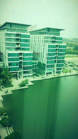 Ruemz Hotel : View dari kamar hotel