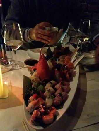 Finger's : Piatto misto sushi