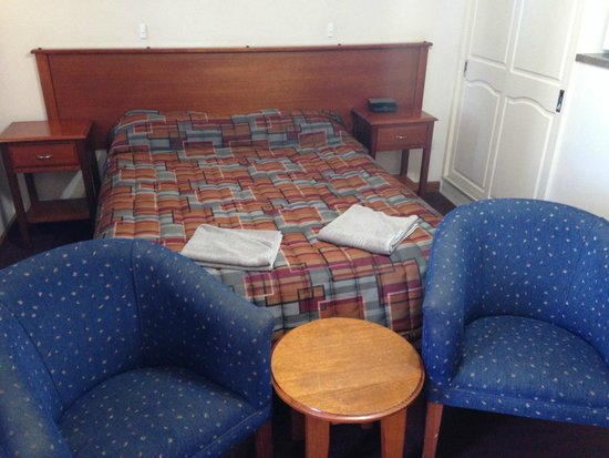 Comfort Inn Augusta Westside : first double bed