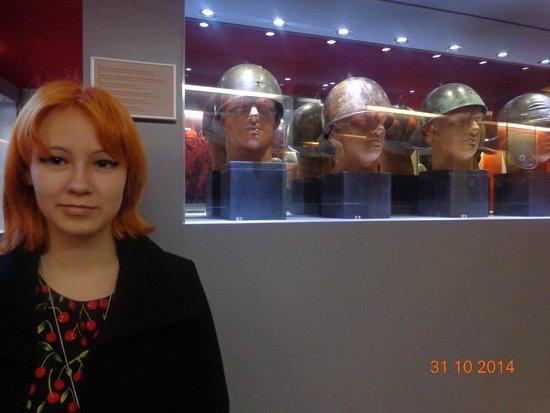 Archaeological Museum and Andautonia Archaeological Park: шлемы воинов
