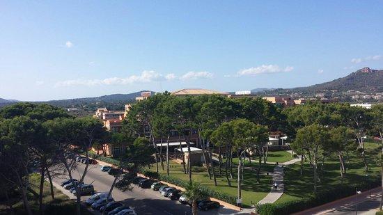 Hipotels Hipocampo Playa Hotel: Blick von Zimmer 504 links