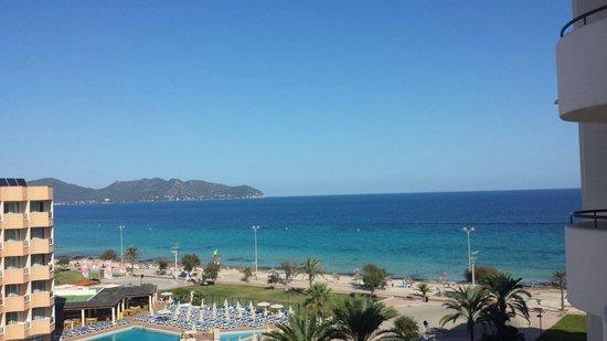 Hipotels Hipocampo Playa Hotel: Blick von Zimmer 504 rechts