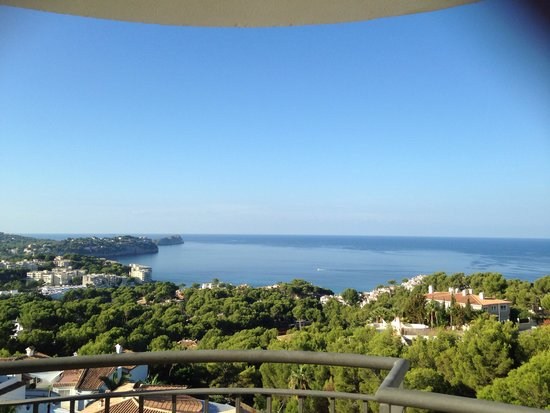 Maritim Hotel Galatzo : View from our balcony
