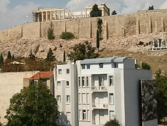 "Akropolismuseum: View 1 From The ""State-Of-The-Art"" Acropolis Museum"