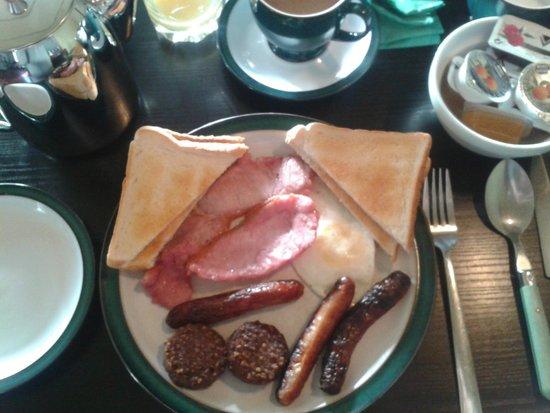 Ocean Crest House : Irish Breakfast