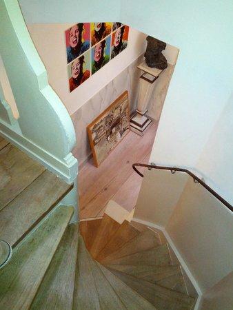 B&B Herengracht 21: Stairs