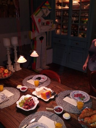 B&B Herengracht 21: Breakfast