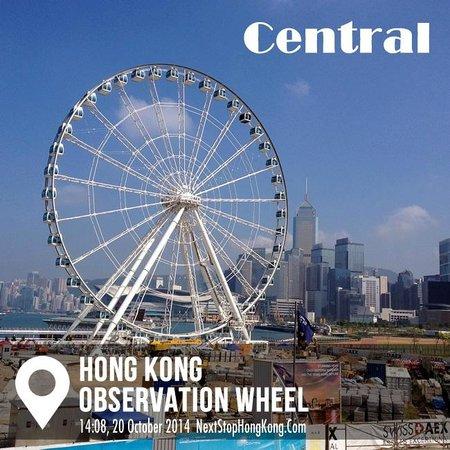 NextStopHongKong - Hong Kong Private Walking Tour : Hong Kong Observation Wheel