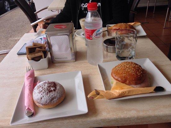 Cappuccino Grand Cafe: desayuno perfecto;) grazie mille
