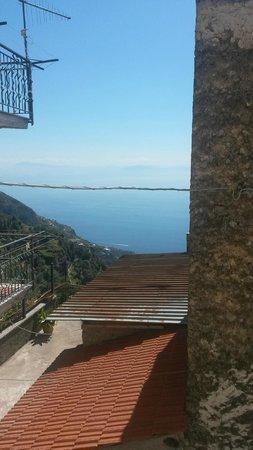 Villa Donna Fausta : vista dalla finestra