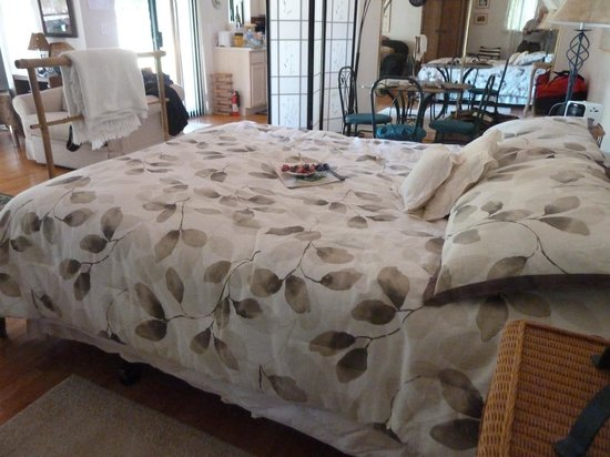 Old Trout Bed and Breakfast: Comfy Bed
