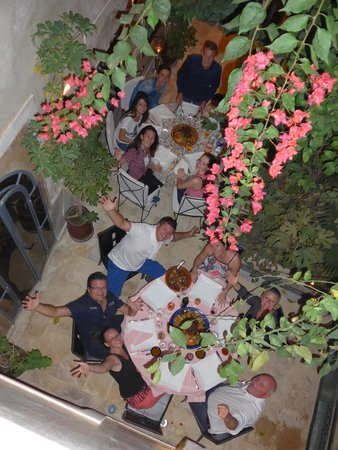 Riad Oasissime : Des repas de rois....
