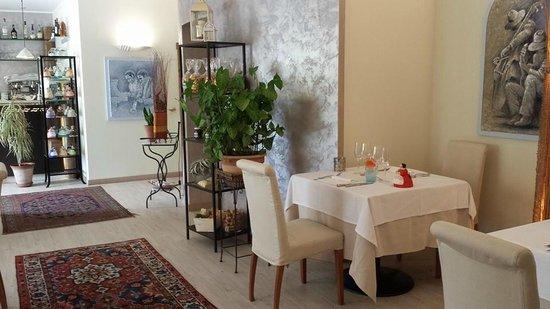 Mardivino : Dettaglio della sala ristorante