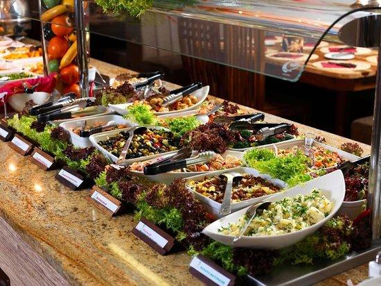 buffet salad bar picture of bem brasil leeds leeds. Black Bedroom Furniture Sets. Home Design Ideas