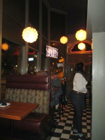 White Cap Grille: Interior View