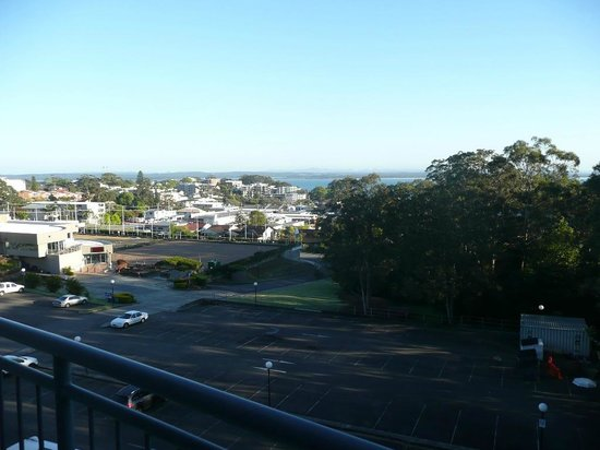 The Landmark Nelson Bay: View from 5th floor studio room