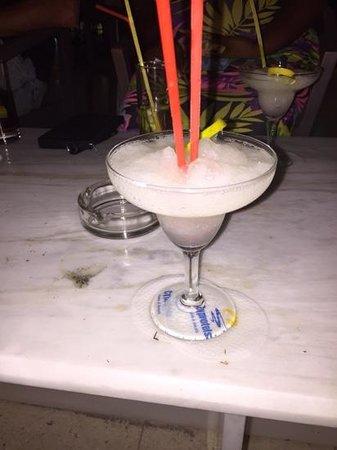 Laura Beach Hotel: lemon daquiari cocktail- bliss