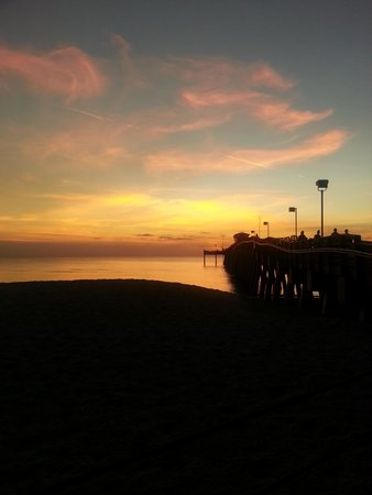 Holiday Inn Express Venice/Sarasota: Venice Beach sunset