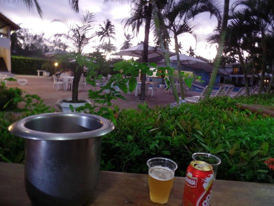 Oceano Praia Hotel : vista do quarto...
