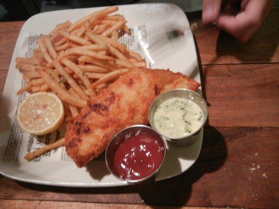 Gladstones: Fish & chips