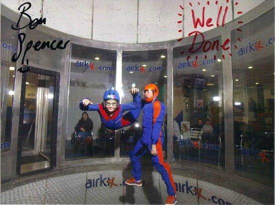 Airkix Indoor Skydiving Manchester: Geg at Airkix Manchester