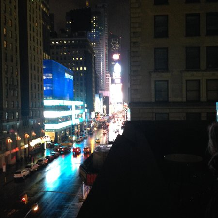 The Manhattan At Times Square Hotel: View From Balcony   Time Square