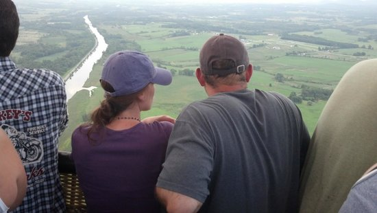 Sunkiss Ballooning: Some Passengers Admiring the View