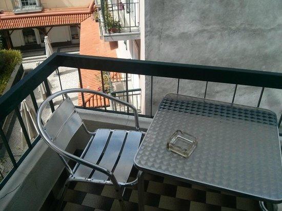 Hotel Sirius: Балкон