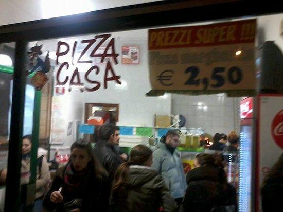 Entrance Picture Of Pizza Casa Di Marzouk Fathi Bologna Tripadvisor