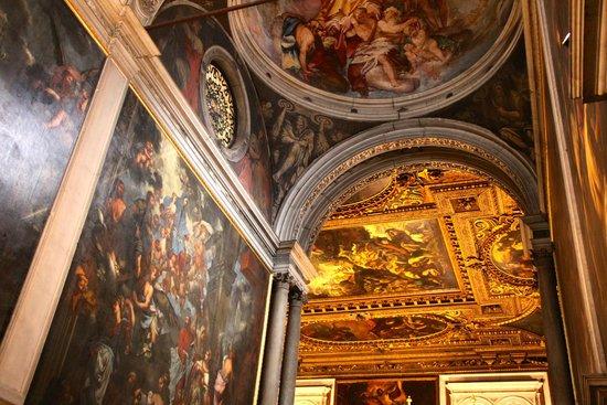 Scuola Grande di San Rocco: Ceilings