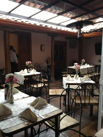 Abadia Colonial: Restaurante Roma no interior do Hotel
