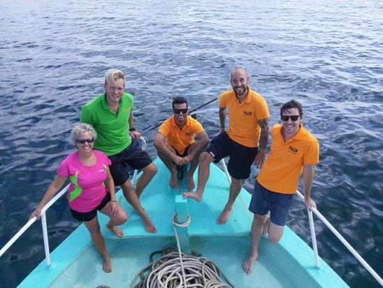 Rainbow Divers-Phu Quoc: dive instructors