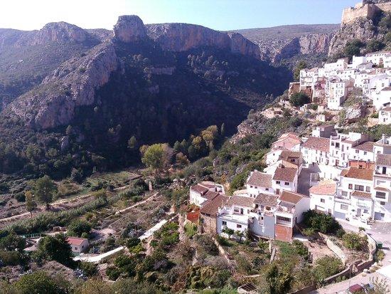 La Casa Serena: Rear aspect of 'Casa Serena'