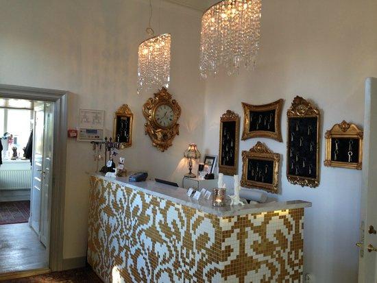 Gorvalns Slott: Väldigt trevlig och vacker reception