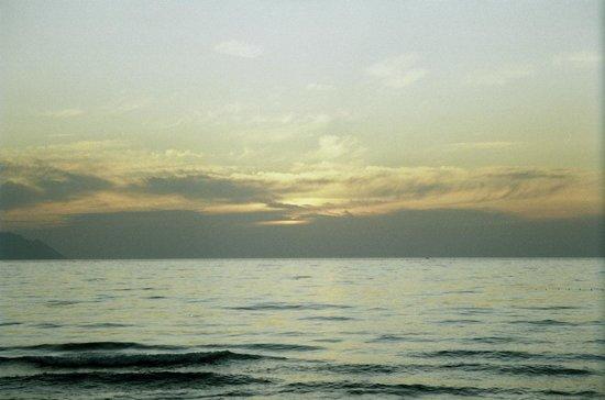 Uzun Plaj: sunset