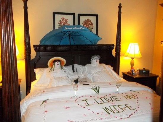 Sandals Ochi Beach Resort: Butlers can get carried away