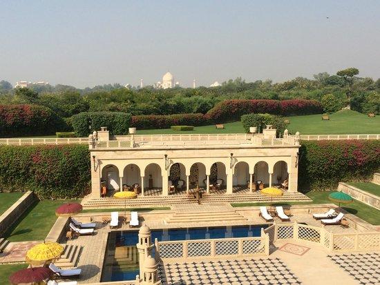 Esphahan: Blick vom Hotel Oberoi Richtung Taj Mahal
