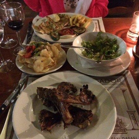 Crispy lamb chops say no more foto van ca n pilot restaurante