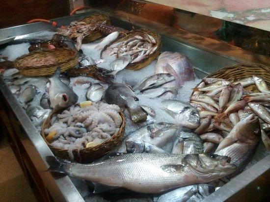 Bancone pesce ingresso picture of ai 2 ghiottoni bari for Ai 2 ghiottoni bari