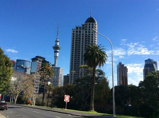 Copthorne Hotel Auckland City: el centro de auckland