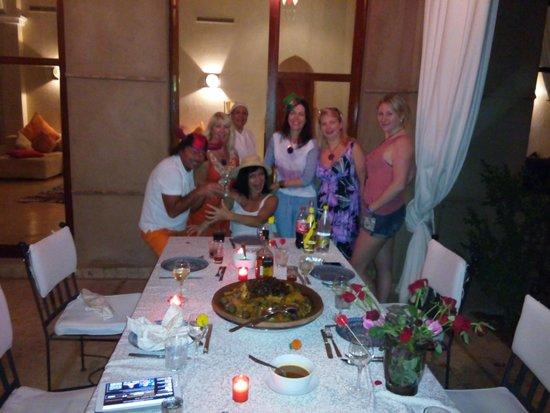 Villa Jenaima Marrakech: КОРОЛЕВСКИЙ КУ-КУС