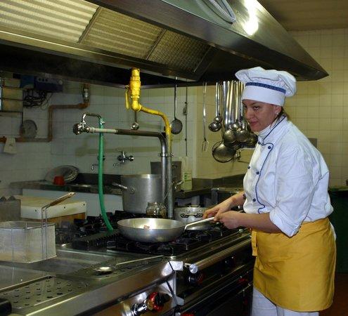 La Casina delle Rose: La Chef Daniela Mancini