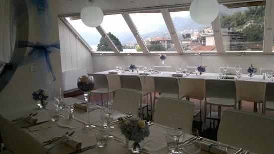 Hotel Ristorante Croce Bianca: Sala attico