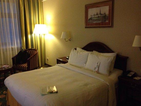 Moscow Marriott Tverskaya Hotel : Comfy bed