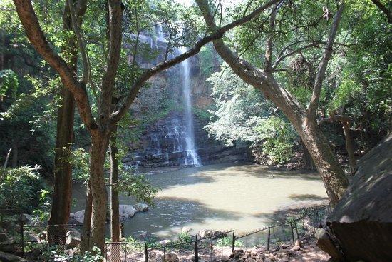 Mahbubnagar, อินเดีย: Mallela Theertham Waterfalls