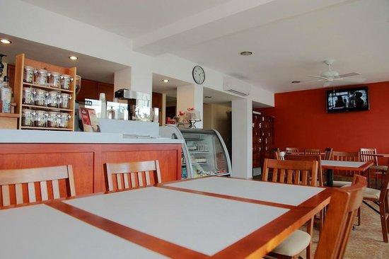 Seven Crown La Paz Centro : Cafeteria